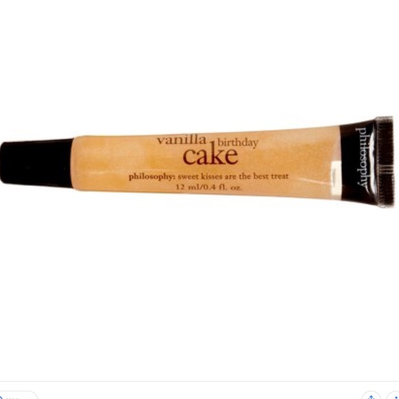 Philosophy Vanilla Birthday Cake Lipgloss NWT